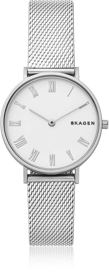 Skagen Hald Silk-Mesh Women's Watch
