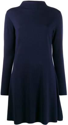 Allude fine knit shift dress