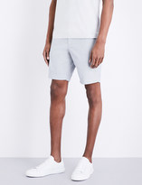 BOSS Slim-fit poplin shorts
