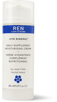 Ren Skincare Vita Mineral Moisturising Cream, 50ml