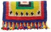 SENSI STUDIO X Chiara Totire Nalo woven-straw clutch