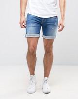 Pepe Jeans Pepe Cane Slim Fit Denim Short Blue Wash