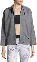 Koral Activewear Women's Descender Hooded Cotton-Blend Jacket