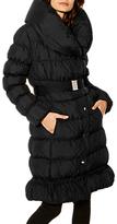 Karen Millen Feather Filled Puffer Coat, Black