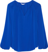 Diane von Furstenberg Marnie silk blouse
