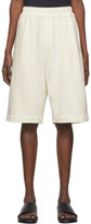 Off-White Jil Sanderand Terry Shorts