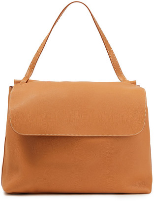 The Row Top Handle 14 Pebbled-leather Shoulder Bag