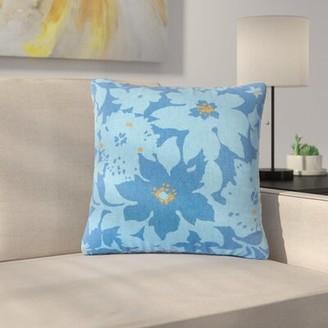 Calypso Latitude Run Strawbridge Floral Cotton Throw Pillow Latitude Run Color