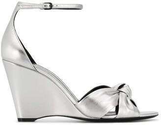 Saint Laurent Lila wedge sandals