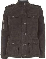 Mint Velvet Camouflage 4 Pocket Jacket