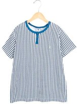 Petit Bateau Boys' Star Print Short Sleeve Shirt