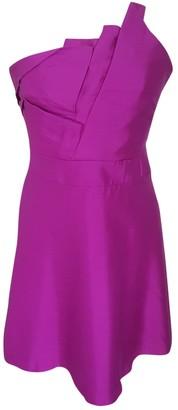 Reiss Purple Silk Dress for Women