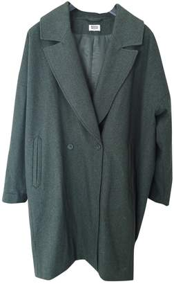 Weekday Green Coat for Women