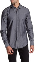 HUGO BOSS Cliffe Embroidered Dot Regular Fit Shirt