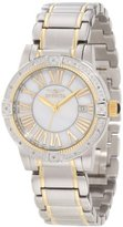 """Invicta Women's 13957 """"Angel"""" Diamond-Accented Two-Tone Stainless Steel Bracelet Watch"""