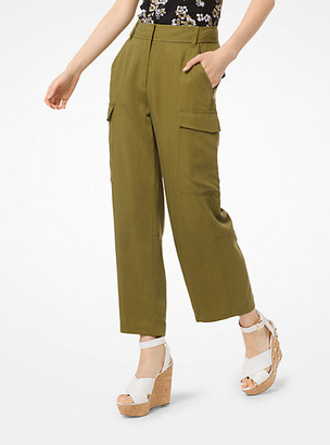 Michael Kors Cropped Cargo Pants