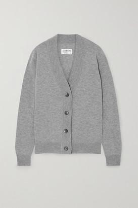 Maison Margiela Wool Cardigan - Gray