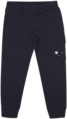 C.P. Company Undersixteen Cargo Logo Patch Detail Track Pants