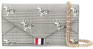 Thom Browne Zebra Pebble Grain Wallet
