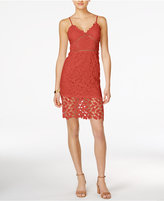 Bar III Lace Dress, Only at Macy's
