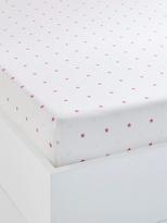 Children's Fitted Sheet, Star Theme - pink medium all over printed, Furniture & Bedding | Vertbaudet