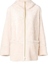 Sylvie Schimmel sheep skin coat