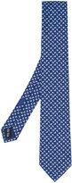 Salvatore Ferragamo boat and anchor print tie