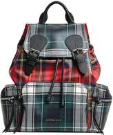 Burberry The medium Rucksack in laminated tartan