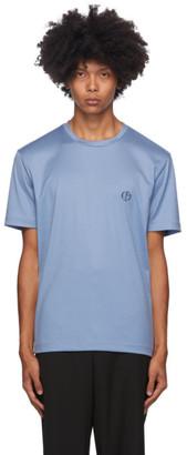 Giorgio Armani Blue Logo T-Shirt