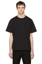Sacai Black Cotton T-shirt