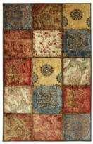 American Rug Craftsmen Mohawk Home Free Flow Free Flow Artifact Panel Printed Rug, 8'x10', Multi