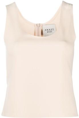 A.W.A.K.E. Mode U-neck fitted vest