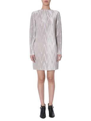 Givenchy Pleated Shift Dress