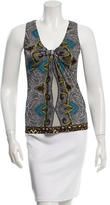 Etro Abstract Print Sleeveless Top