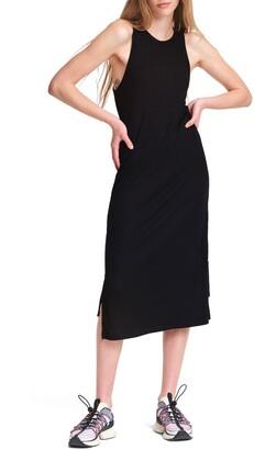 Rag & Bone The Knit Rib Zip Sleeveless Midi Dress