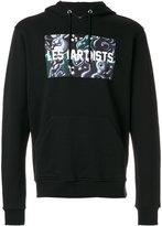 Les (Art)ists graphic printed hoodie