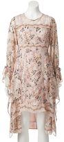 Lauren Conrad Women's High-Low Print A-Line Dress