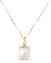Tagliamonte Mia & Beverly Rose Quartz and Diamond 18K Gold Charm Necklace