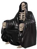 Toscano Seat of Death Grim Reaper Throne Armchair Design