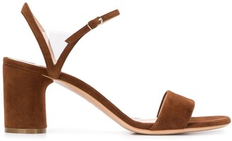 Casadei PVC-insert strappy sandals