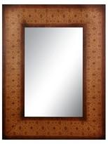 Oriental Furniture Olde-Worlde European Style Mirror - Brown