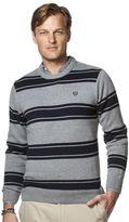 Chaps Men's Classic-Fit Striped Crewneck Sweater