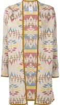 Visvim Navajo patterned cardi-coat - women - Cotton/Linen/Flax/Wool - 2
