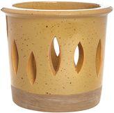 Linea Mustard ceramic votive