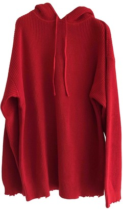 RtA Red Cotton Knitwear for Women