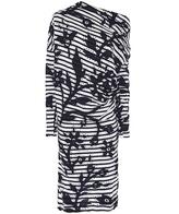 Vivienne Westwood Striped Drape Dress