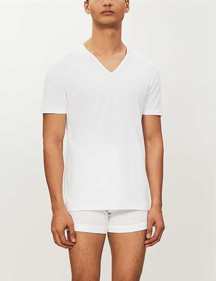 Zimmerli Pure comfort v-neck t-shirt