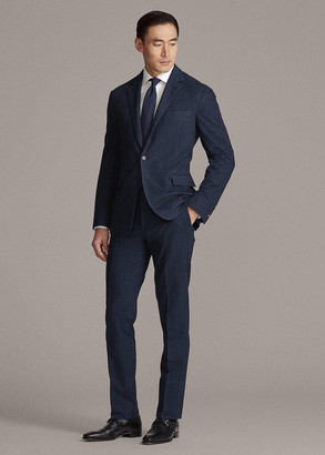 Ralph Lauren Gregory Pique Suit Trouser