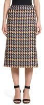 Lafayette 148 New York Women's Priscilla Impromptu Checks Pencil Skirt