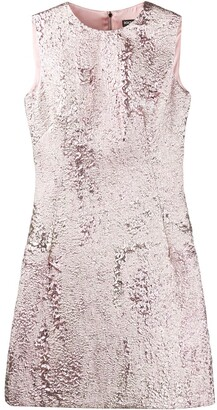 Dolce & Gabbana Jacquard-Effect Short Dress
